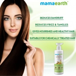 Mamaearth Tea Tree Conditioner with Tea Tree & Ginger Oil for Dandruff Free Hair - 250ml