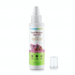 Mamaearth Root Restore Hair Oil for hair fall reduction - 100ml