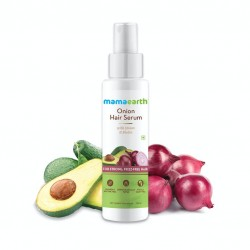 Mamaearth Onion Hair Serum with Onion & Biotin for Strong, Frizz-Free Hair – 100ml